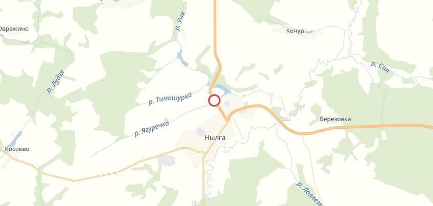 Движение большегрузов запретили на участке трассы Ижевск – Ува