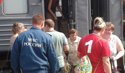 В Удмуртию прибыло около 100 беженцев из Украины