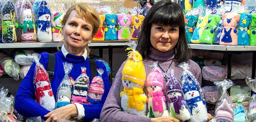 25 декабря в Ижевске открывается Новогодняя ярмарка