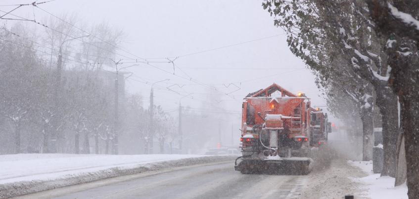 Сильный снег ожидают в Удмуртии в ночь на 27 декабря
