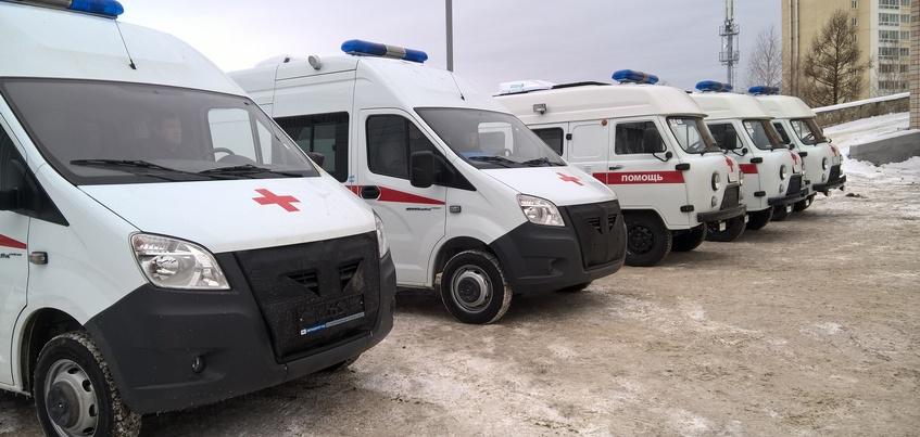 Шесть новых машин скорой помощи поступило в Удмуртии