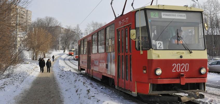 Движение трамваев через Восточный поселок в Ижевске восстановлено