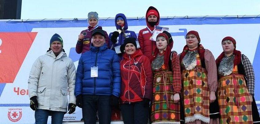 Светлана Миронова победила в последней гонке «Ижевской винтовки»