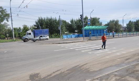 В Ижевске на улице Карла Маркса у трамвайного депо установят светофор для пешеходов