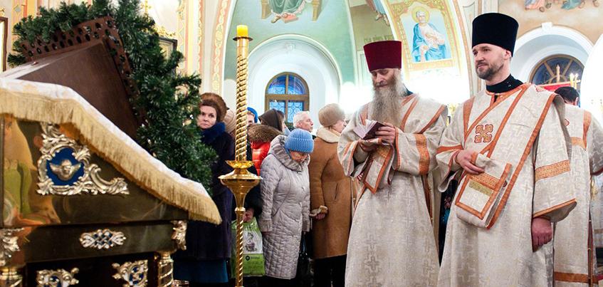 7 тысяч ижевчан приняли участие в богослужениях, посвященных Рождеству