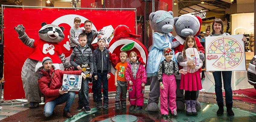 Парк KÍDO в Ижевске отметил день рождения розыгрышем призов и масштабным концертом