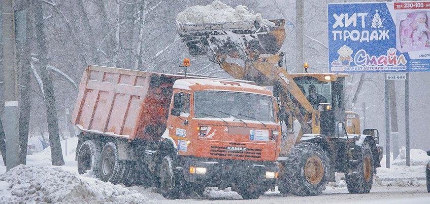 Сугробам – нет: как убирают снег в Ижевске этой зимой?