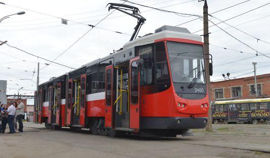 В Ижевске начали курсировать два немецких трамвая