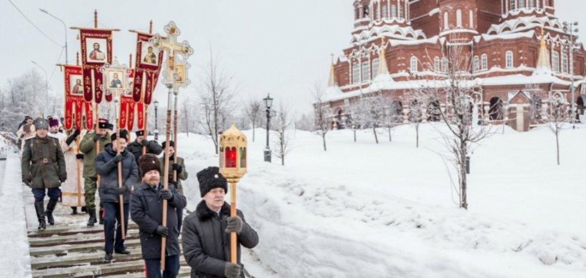 Крещенский крестный ход к купели пройдет в Ижевске вечером 18 января