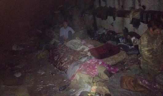 Ижевчане обнаружили в катакомбах под землей семью с маленьким ребенком