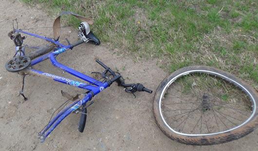 В Удмуртии в аварии стали чаще попадать велосипедисты