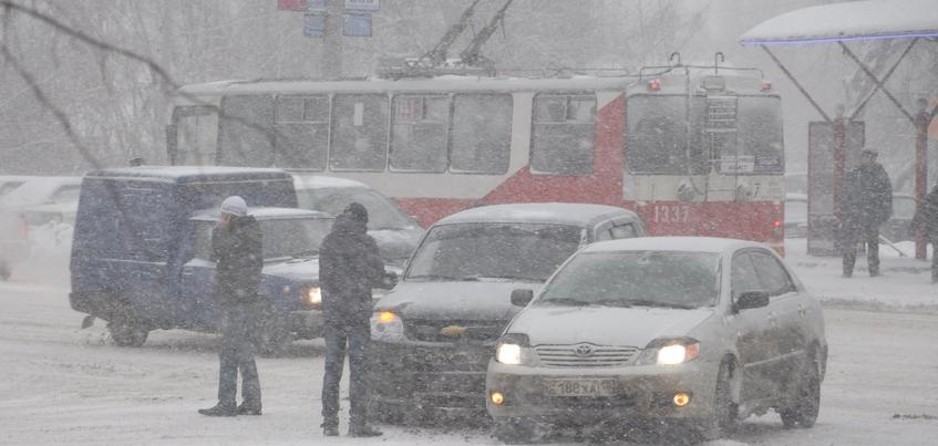 Слабая метель и до -7°С ожидают в Ижевске 21 января