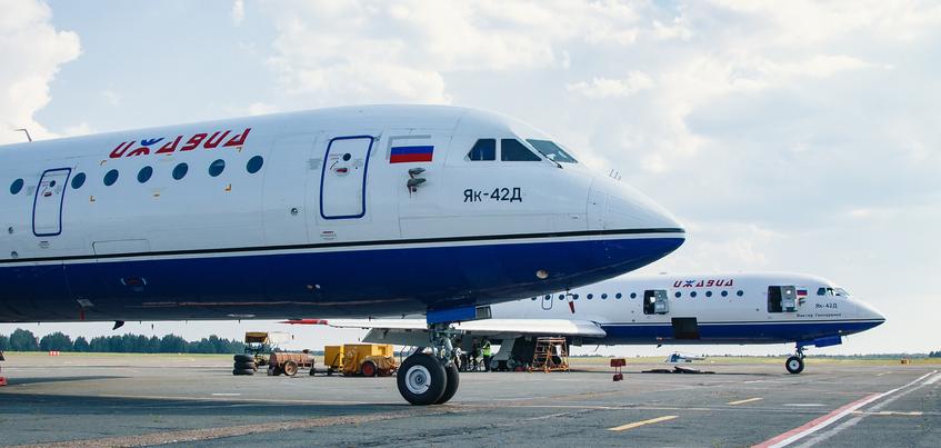 Глава Удмуртии: «Ижавиа» рассматривает возможность замены самолетов Як-42 на «Сухой Суперджет»