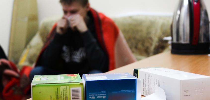 Число заболевших ОРВИ в Удмуртии за неделю выросло на 17%