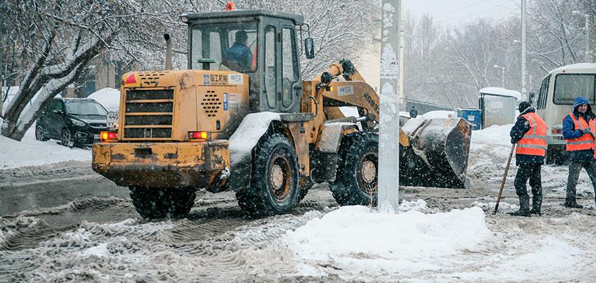 «Перезимуем»: какие улицы почистят сегодня в Ижевске?