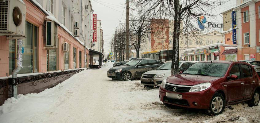 Глава Ижевска не исключил введения зоны платной парковки в центре города