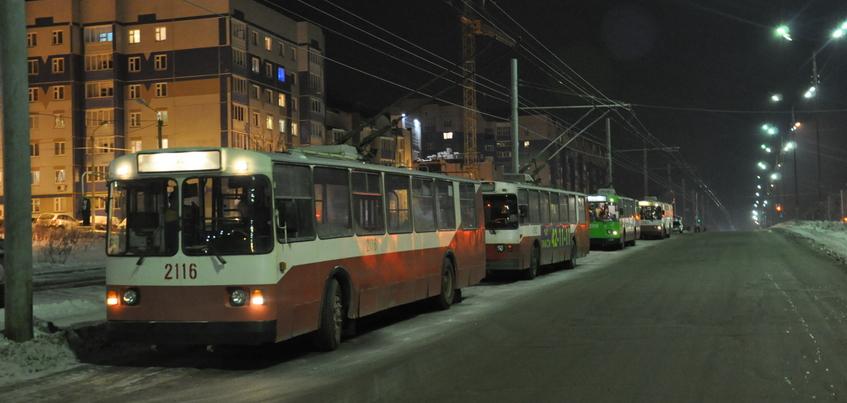 Троллейбусы прекратили движение в городок Металлургов в Ижевске