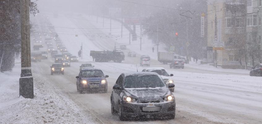 Снегопады и -23°С ожидают в Ижевске 4 февраля