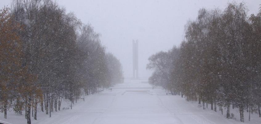 Сильные снегопады вновь ожидают в Ижевске