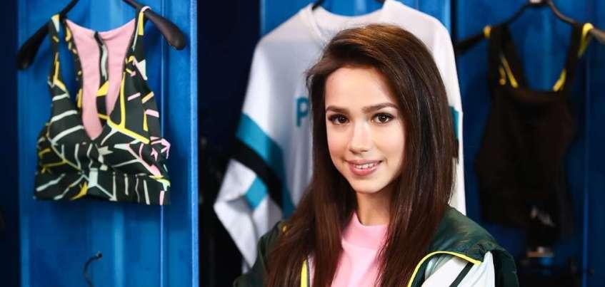 Фигуристка из Ижевска Алина Загитова стала амбассадором крупного спортивного бренда