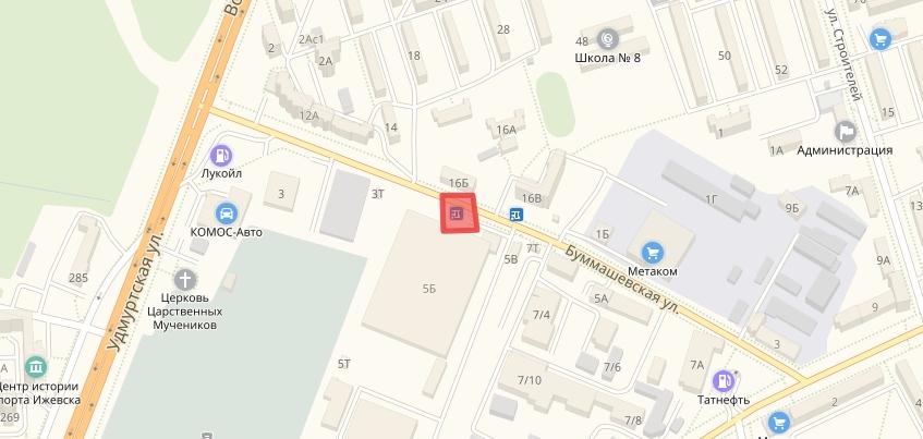 Пешеходный переход могут убрать на улице Буммашевской в Ижевске