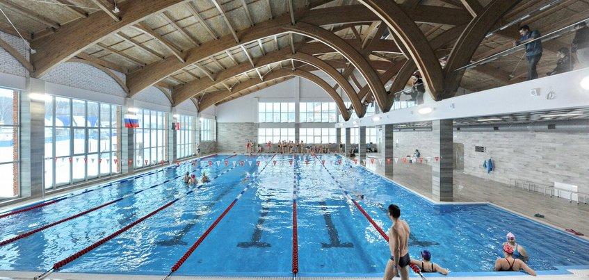 Новый спорткомплекс с бассейном открыли под Ижевском
