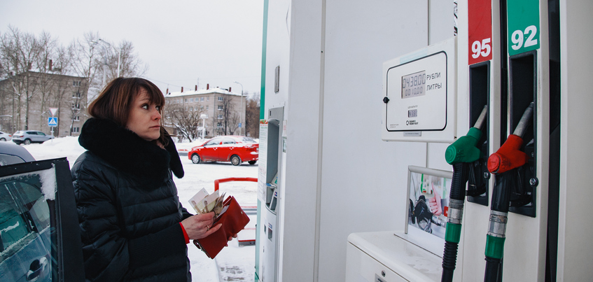 Удмуртия заняла 46-е место в рейтинге доступности бензина