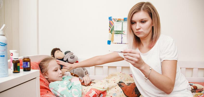 Эпидемический порог по ОРВИ в Ижевске превышен на 28%
