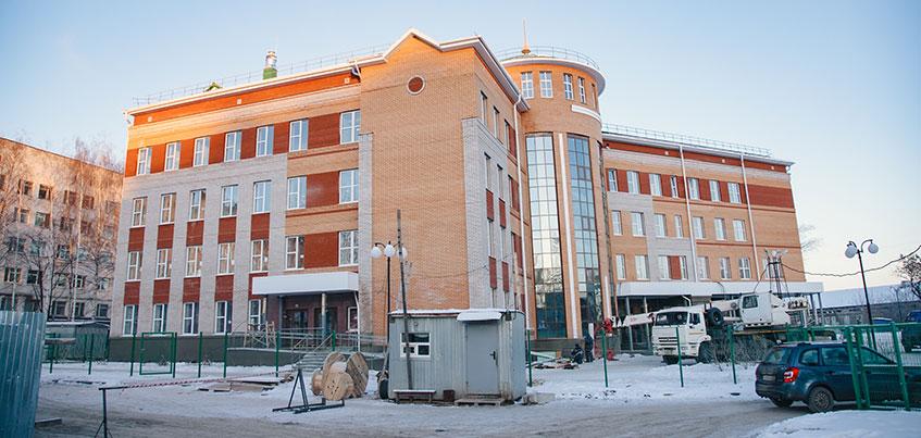 Новое здание поликлиники №4 в Ижевске откроют в конце марта 2019 года