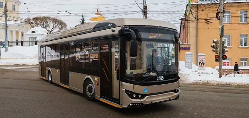 Бесплатные поездки и wi-fi: в Ижевске тестируют новый троллейбус