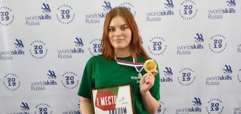 Школьница из Ижевска победила в номинации «Медицинский и социальный уход» на чемпионате WorldSkills Russia