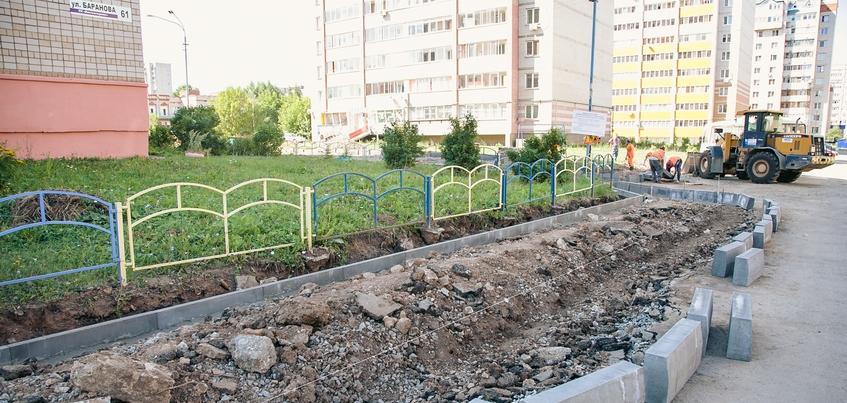 Почти 500 млн руб. направят на благоустройство городской среды в Удмуртии