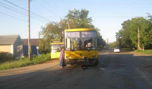 Ижевчанку, виновную в ДТП с автобусом на Азина, задержали пьяной