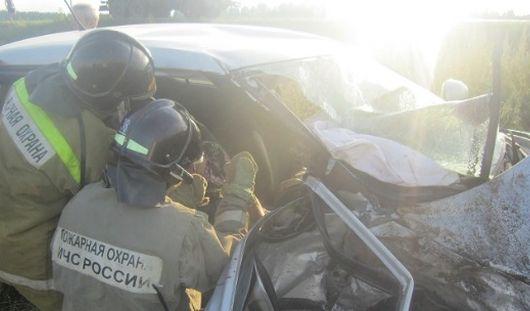 Пассажир «Шкоды» погиб в результате ДТП на трассе Ижевск - Ува