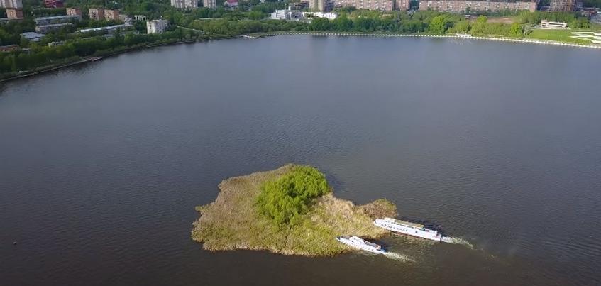 Есть вопрос: что сделают с плавучим островом на пруду в Ижевске?