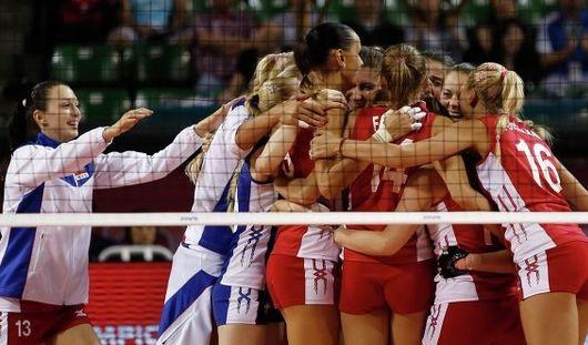 Сборная России по волейболу заняла третье место в Гран-при в Японии