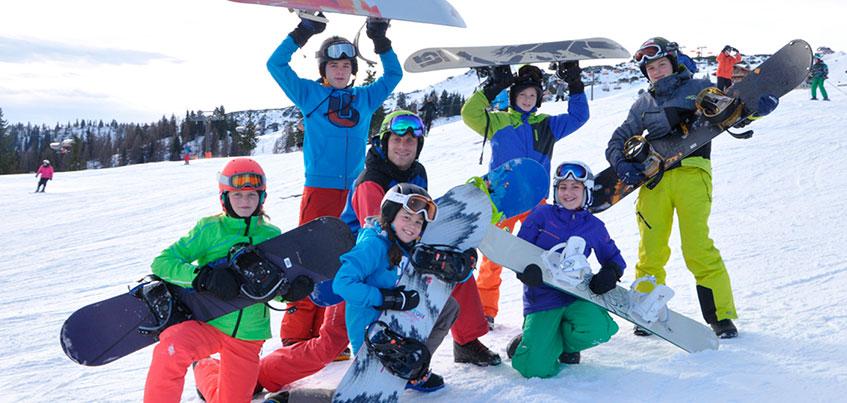Впервые на курорте Нечкино пройдет 5-дневный детский горнолыжный клуб