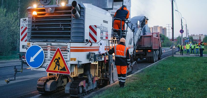 Какие дороги отремонтируют в Ижевске в 2019 году?