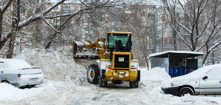 С каких улиц Ижевска вывезут снег на этой неделе?