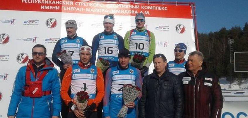 Олимпийский чемпион Алексей Волков победил на этапе Кубка России по биатлону