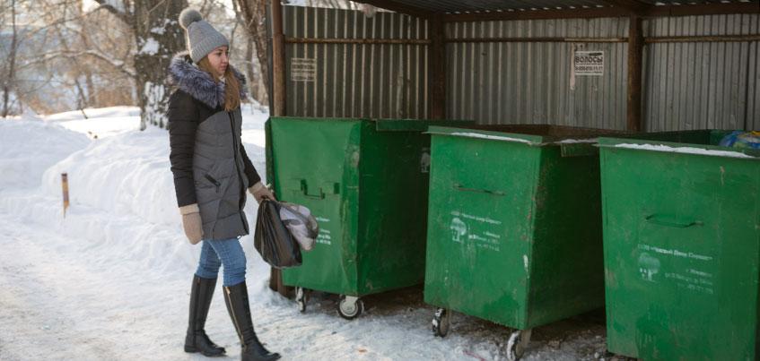 Эксперимент «Разделяешь = экономишь»: жители 10 домов Ижевска будут платить за вывоз мусора по факту