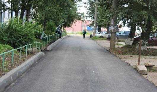 Ижевчане, написав  Владимиру Путину, добились ремонта двора