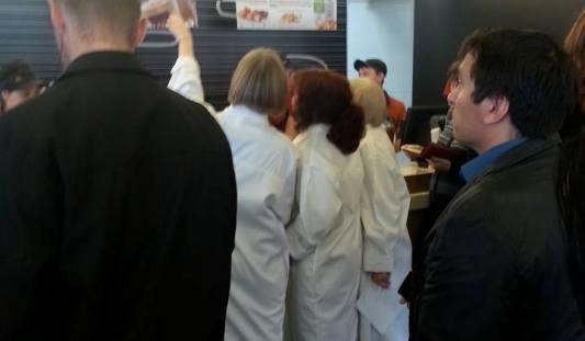 В Ижевске Роспотребнадзор проводит проверку в «Макдоналдсе»
