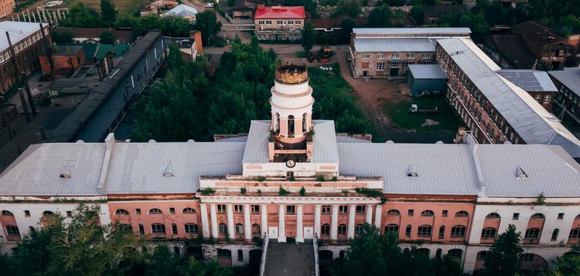 Главный корпус оружейного завода в Ижевске передали в пользование Удмуртии
