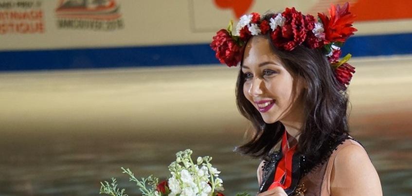 Фигуристка из Удмуртии Елизавета Туктамышева обновила личный рекорд сезона на КЧМ в Японии