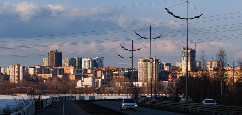 Погода в Ижевске: ночной снег и до -5°С