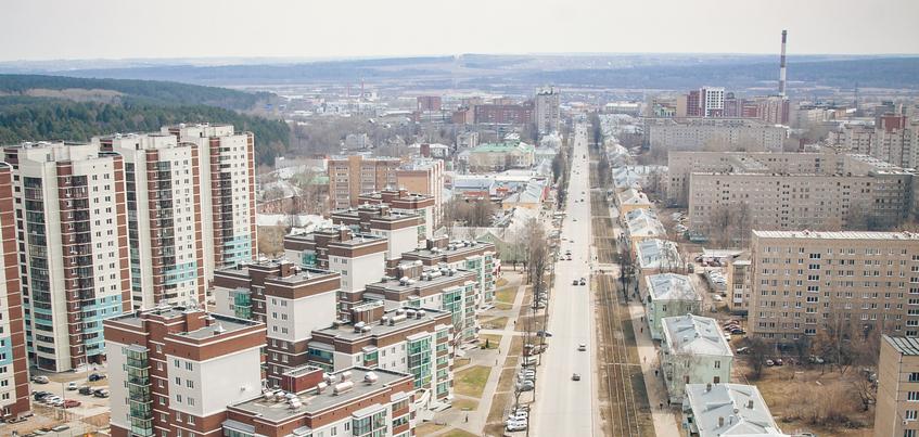 Погода в Ижевске: усиление ветра и ночные -8°С