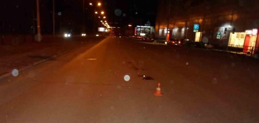 Неизвестный водитель сбил мужчину на улице 10 лет Октября в Ижевске