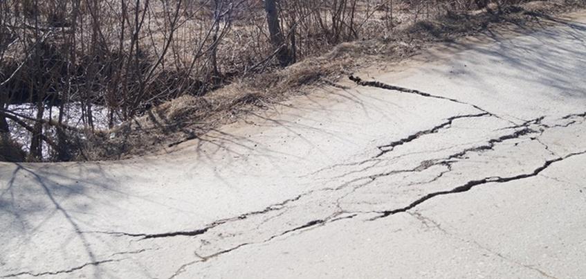 Временную конструкцию установят на месте аварийного моста в Ижевске