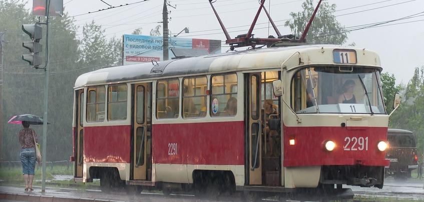 Движение двух трамвайных маршрутов закроют в Ижевске